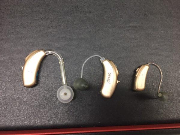 耳掛け式補聴器
